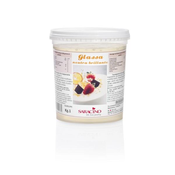 Glassa neutra brillante da 1 kg acquista on line su saracino gelati - Glasse a specchio alla frutta ...